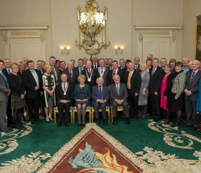 Tom-Crosby-Independent-Counsellor-Roscommon-Ireland-ETB-meeting-President-at-The-Aras